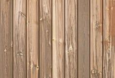 Plance di legno di Brown come fondo o struttura Immagini Stock Libere da Diritti