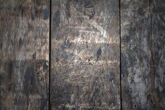 Plance di legno di Drak Immagine Stock Libera da Diritti