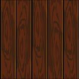 Plance di legno di vettore illustrazione di stock