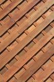 Plance di legno diagonali Fotografia Stock Libera da Diritti