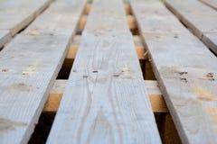 Plance di legno DOF basso Immagini Stock Libere da Diritti