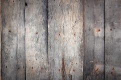 Plance di legno esposte all'aria Immagine Stock