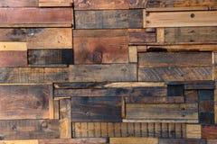 Plance di legno macchiate e stagionate Fotografie Stock