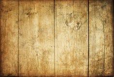 Plance di legno marroni dell'annata Fotografie Stock