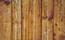 Plance di legno per fondo Fotografia Stock Libera da Diritti