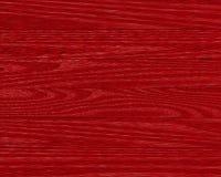 Plance di legno rosse Fotografia Stock