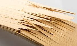 Plance di legno rotte Fotografia Stock