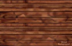 Plance di legno scure Fotografia Stock Libera da Diritti