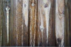 Plance di legno verticali Fotografie Stock Libere da Diritti