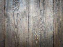 Plance materiali di legno Legno duro stagionato con i segni invecchiare e dei chiodi arrugginiti fotografia stock libera da diritti