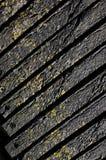Plance strutturate esposte all'aria di effetto di legno Fotografia Stock Libera da Diritti