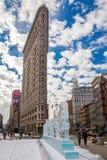Plancha que construye NYC Imagen de archivo libre de regalías
