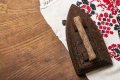 Plancha vieja con el espacio para el texto Imágenes de archivo libres de regalías