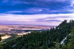 Planchas en Boulder, Colorado imágenes de archivo libres de regalías