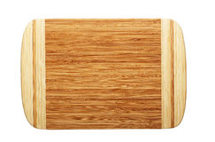 Planche à découper en bois rectangulaire image libre de droits