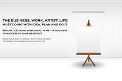 Planche à dessin Photographie stock