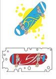 Planche à roulettes Image stock