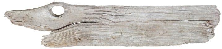 Planche de bois de flottage Photographie stock