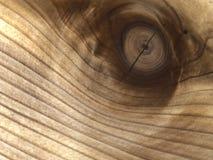 Planche de cèdre avec un noeud 10 Photographie stock