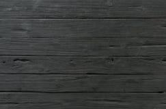 Planche de fond de vintage vieille de texture en bois de noir photos libres de droits