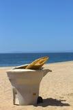 Planche de surf cassée Image stock