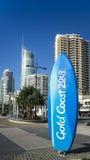 Planche de surf 2018 de la Gold Coast Images libres de droits