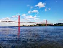 Planche el puente Fotografía de archivo