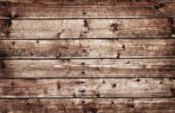 Planche en bois brune de haute résolution Images stock