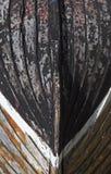 Planche en bois de bateau Photo stock