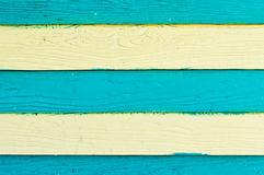 Planche en bois peinte Image libre de droits