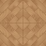 Planche en bois pour le plancher de parquet, illustration de vecteur Image stock