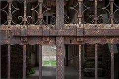 Planche la puerta Foto de archivo libre de regalías