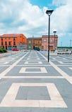Plancher carré Photos libres de droits