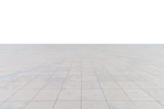 Plancher carré en béton vide Images libres de droits