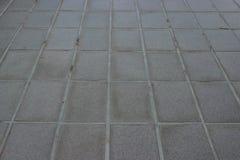 Plancher carrelé autour de la maison Photos stock