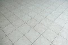 Plancher carrelé gris image libre de droits
