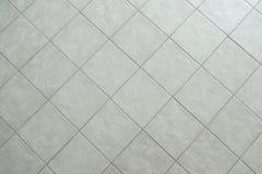 Plancher carrelé gris photo libre de droits