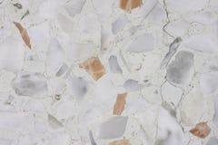 Plancher criqué de sol de mosaïque Images stock