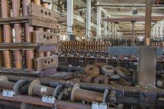 Plancher d'usine de moulin de fil Images stock
