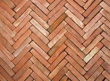 Plancher de bloc de brique Photographie stock libre de droits