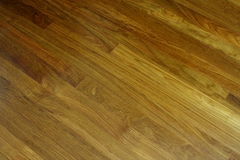 Plancher de bois dur image stock