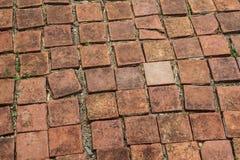 Plancher de brique photo stock
