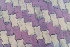Plancher de brique de ciment Photos libres de droits
