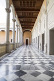 Plancher de marbre, palais d'intérieur, Alcazar De Toledo, Espagne Photographie stock