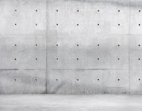 Plancher de mur en béton et de ciment pour l'espace de copie Photographie stock libre de droits