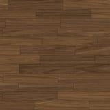 Plancher de parquet de brun foncé Photographie stock libre de droits
