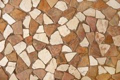 Plancher de pierre décorative Photographie stock