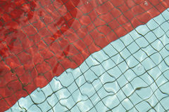 Plancher de piscine de Swimminf Images libres de droits