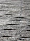 Plancher de Sydney Quay Wooden photographie stock libre de droits