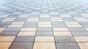 Plancher de tuiles d'échecs Image libre de droits